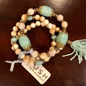 NWT Rush by Denis & Charles bracelets